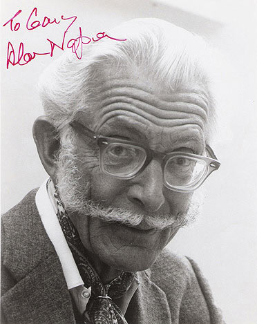Alan Napier Autograph Napier is best known today for portraying alfred pennyworth, bruce wayne's butler in the. twilight zone museum